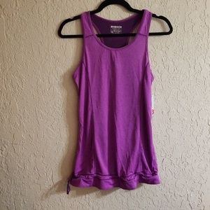 Quick dry performance razor back tank top